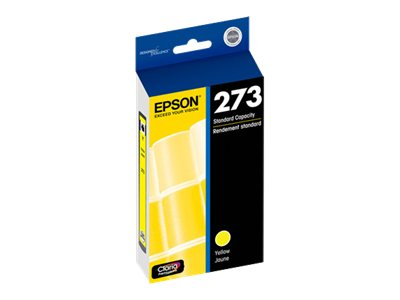 Epson Yellow #273 Ink Cartridge, T273420