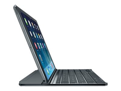 Logitech Ultrathin Magnetic Clip-on Keyboard Cover for iPad Air, Space Gray, 920-006215, 18417381, Keyboards & Keypads