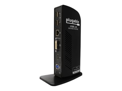 Plugable Plugable UD-3900 Dual Display Universal Docking Station, UD-3900, 31603103, Docking Stations & Port Replicators