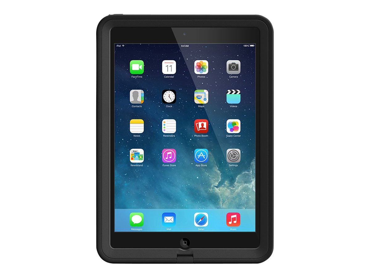 Lifeproof fre Case Cover for iPad Air 1st Gen, Black Black