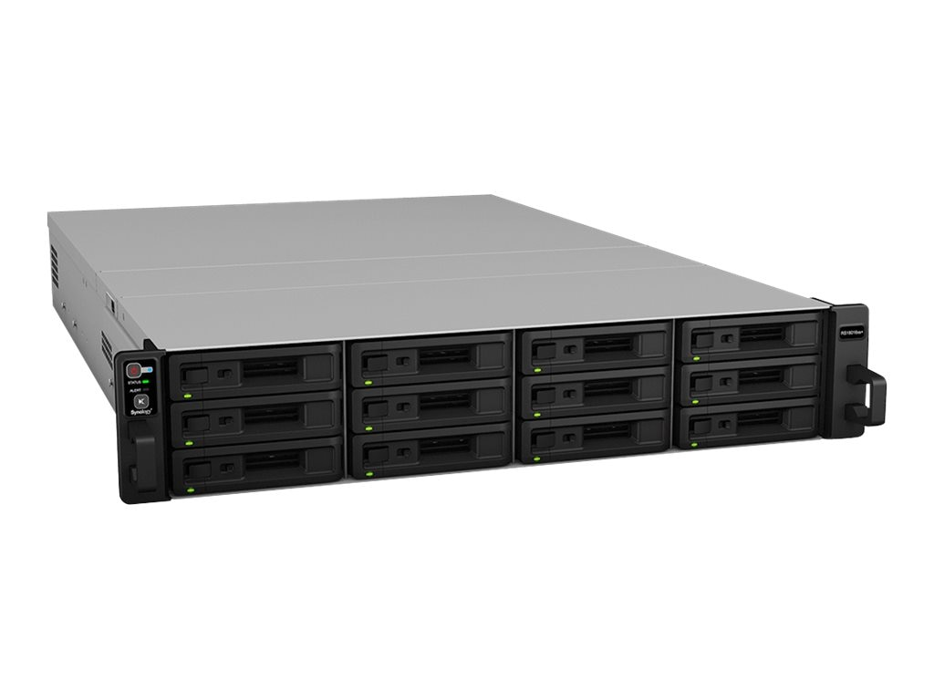 Synology RackStation RS18016XS+ 12-Bay Diskless NAS, RS18016XS+