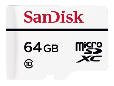 Axis 64GB Surveillance microSDXC Flash Memory Card with Micro SD Adapter, Class 10, 5506-801, 29155479, Memory - Flash