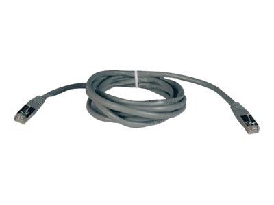 Tripp Lite Cat5e 350MHz Shielded Patch Cable, Gray, 25ft, N105-025-GY, 5916106, Cables