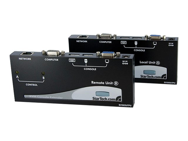 StarTech.com USB VGA KVM Console Extender over CAT5 UTP, 500 ft, SV565UTPU, 9744671, KVM Displays & Accessories