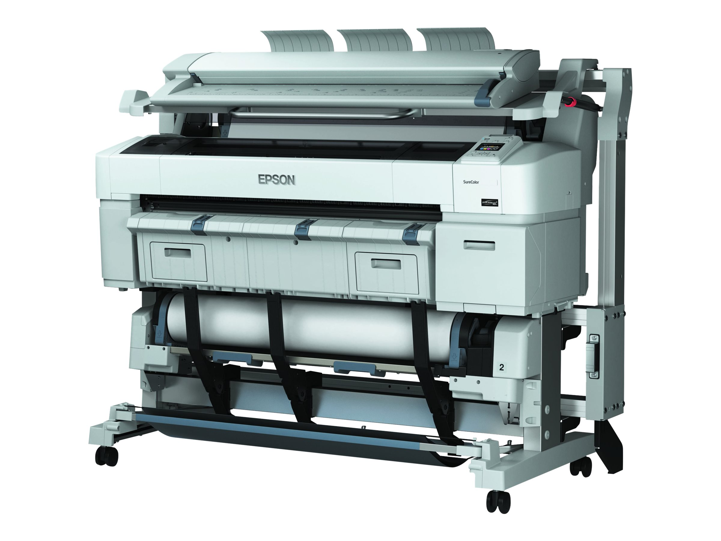 Epson SureColor T7270D Dual Roll Printer - $6995 less instant rebate of $1000.00, SCT7270DR, 18034760, Printers - Large Format