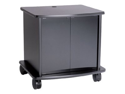 ClearOne 38 Monitor Cart with Curved Front and Grommet Back, 911-171-015, 14422933, Computer Carts