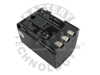 BTI Battery, Lithium-Ion, 7.4 Volts, 1400mAh, for Camcorder, BTI-CN2L12, 8442971, Batteries - Camera