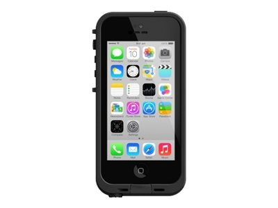 Lifeproof fre Case for iPhone 5C, Black Clear, 2001-01, 18622756, Carrying Cases - Phones/PDAs