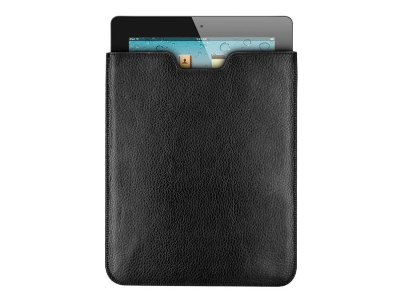 Premiertek Leather Sleeve for iPad 2, LC-IPAD2-BK