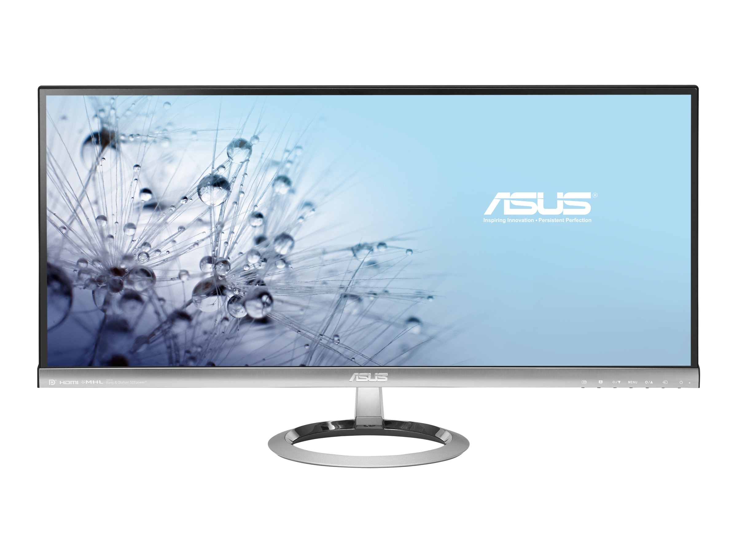 Asus 29 MX299Q LED-LCD Ultrawide Frameless Monitor, Black