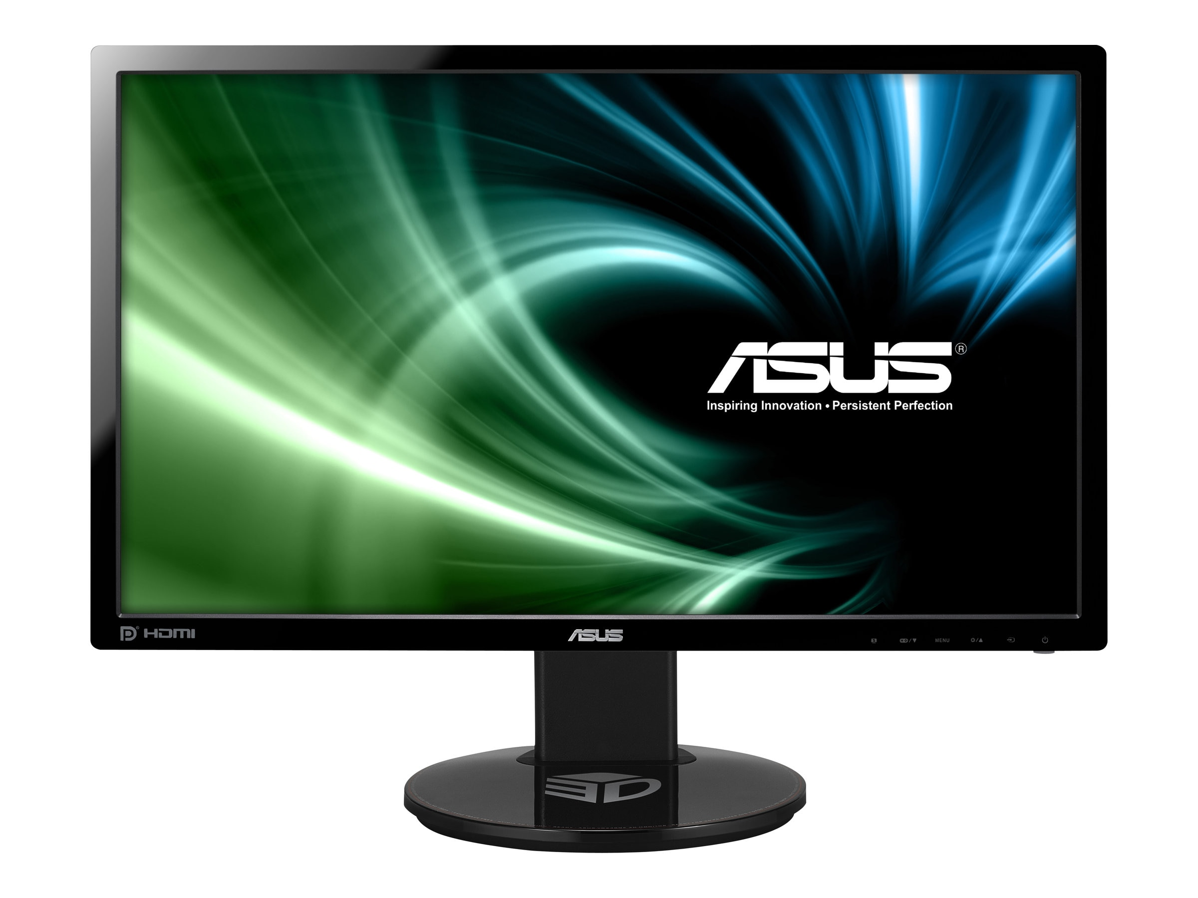 Open Box Asus 24 VG248QE Full HD LED-LCD Monitor, Black, VG248QE, 15791191, Monitors - LED-LCD