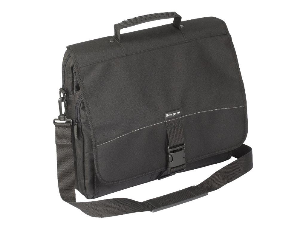 Targus Messenger Notebook Case, Fits Notebooks up to 15.6, TCM004US