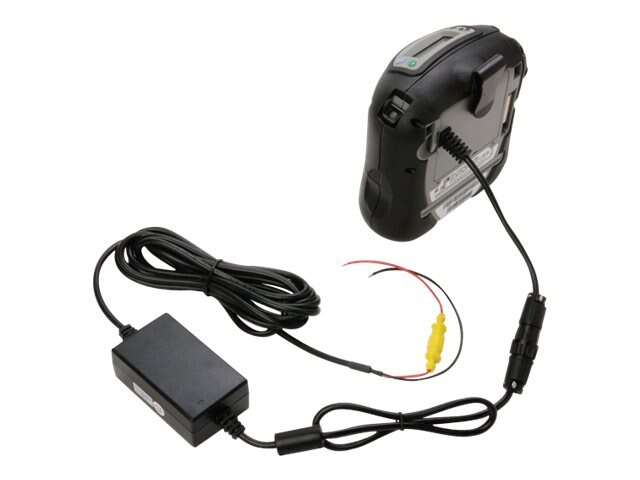Zebra Battery Eliminator w  Grounded Vehicle Plug