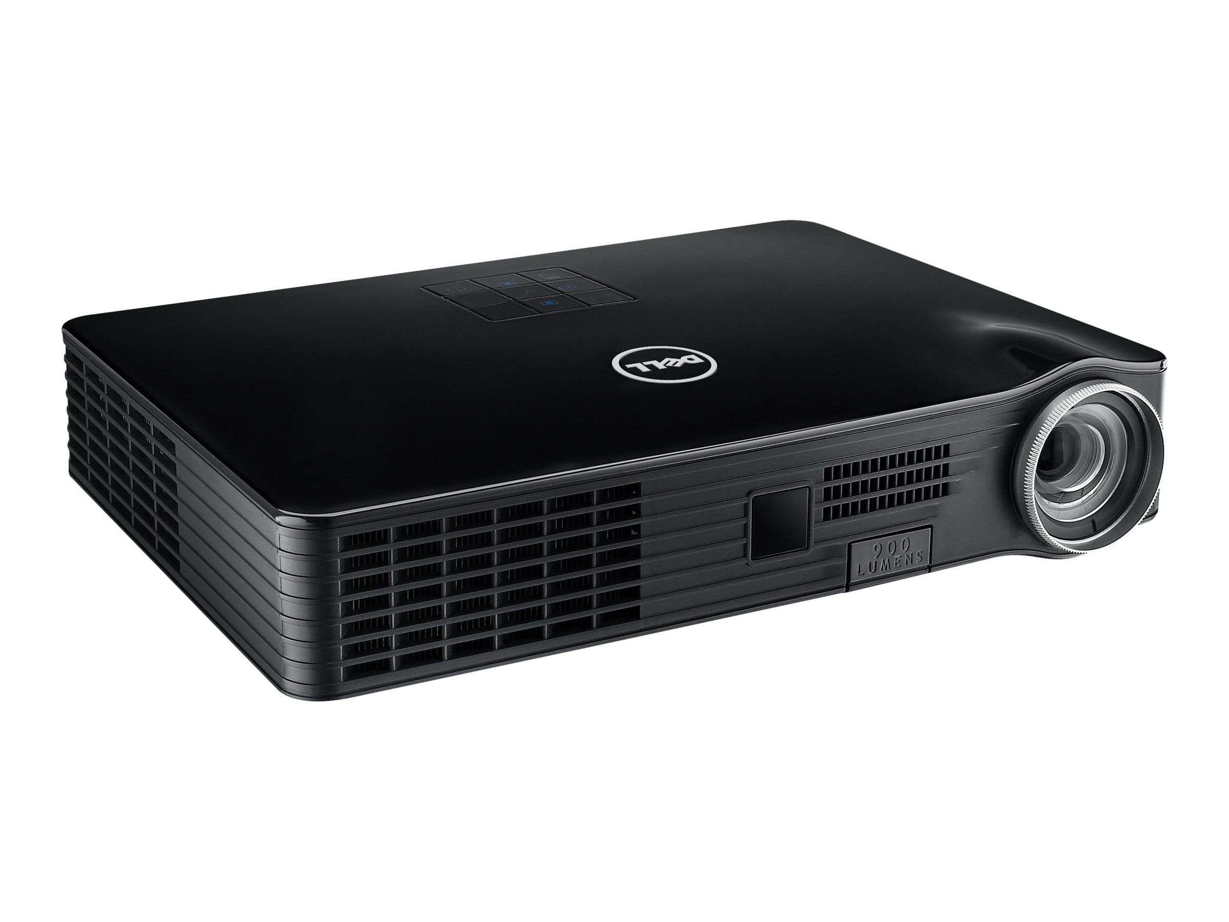 Dell M900HD WXGA LED Projector, 900 Lumens, Black, M900HD, 16477217, Projectors