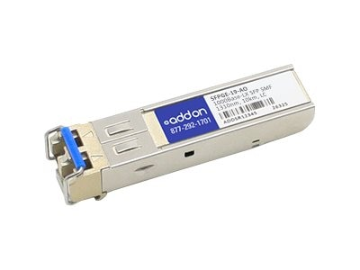 ACP-EP SFP 1-GIG LX SMF LC 10KM TAA Transceiver (Riverstone SFPGE-19 Compatible)