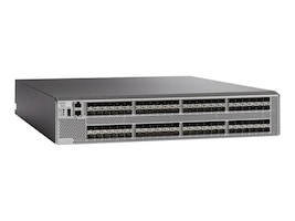 Cisco MDS 9396S 96-Port 16Gb FC Switch w Port-side Exhaust, 16G SW SFP, DS-C9396S-96ESK9, 32837323, Fibre Channel & SAN Switches