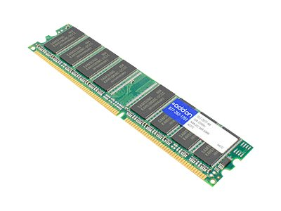 ACP-EP 1GB PC2700 184-pin DDR SDRAM DIMM, 311-2077-AA