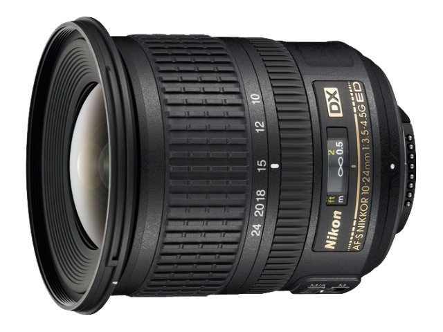 Nikon AF-S DX Zoom-NIKKOR 10-24mm f 3.5-4.5G ED Lens, 2181, 9741892, Camera & Camcorder Lenses & Filters