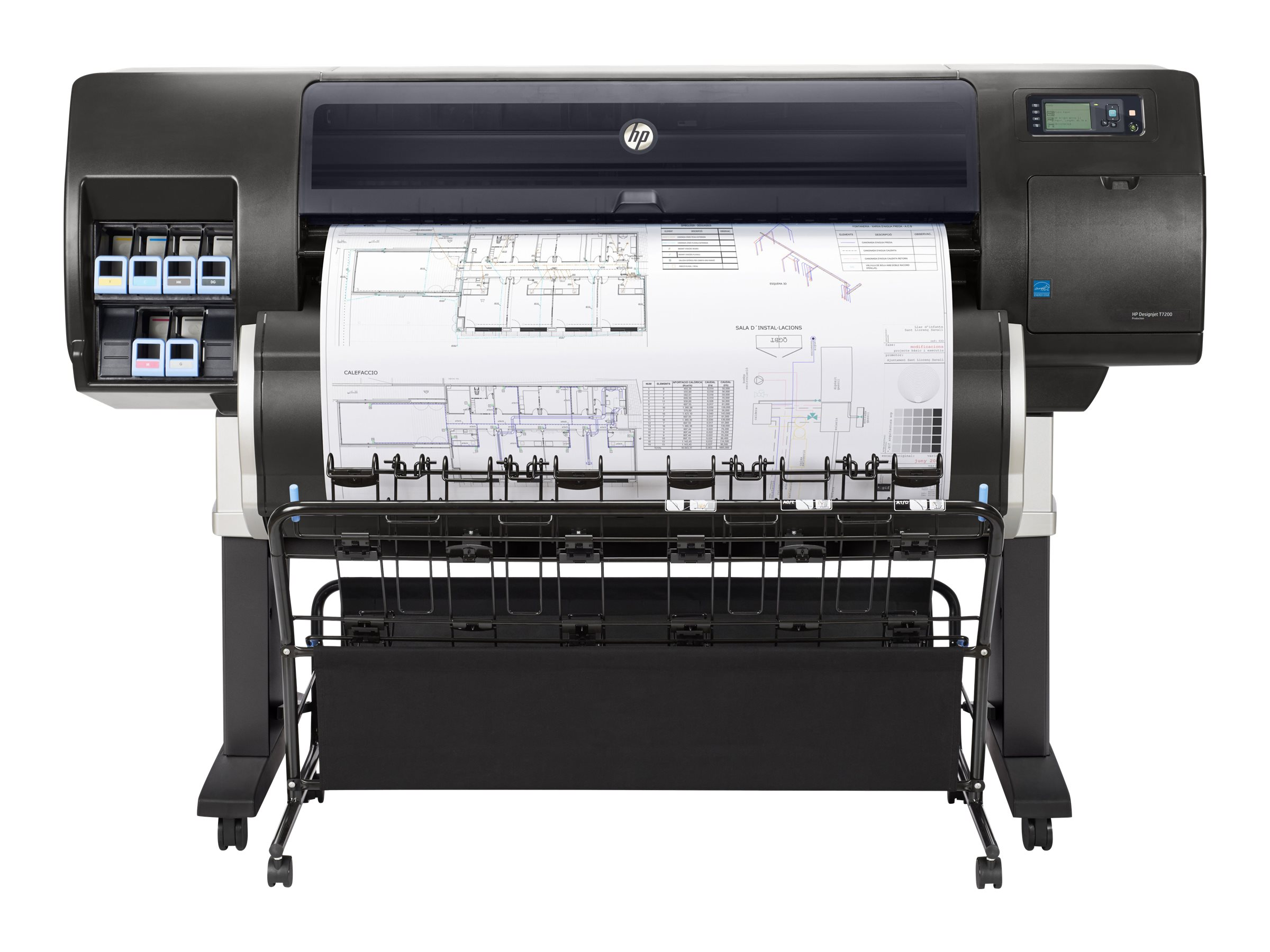 HP Designjet T7200 Production Printer, F2L46A#B1K