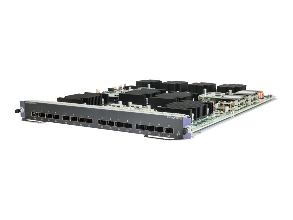HPE FlexFabric 12500 16-port 40GbE QSFP+ FD Module
