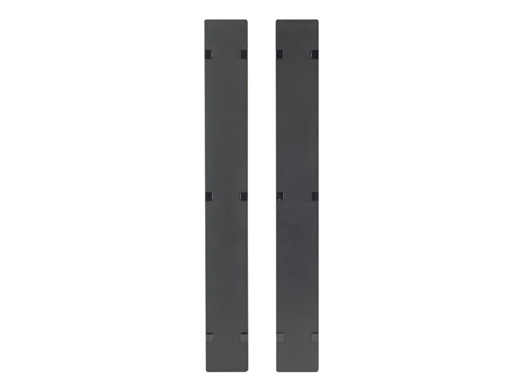 APC Hinged Covers for NetShelter SX 750mm Wide 45U Vertical Cable Manager (Qty 2), AR7586, 15315806, Rack Cable Management