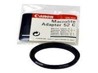 Canon 52C Macrolite Adapter, 2364A001, 15550179, Camera & Camcorder Accessories