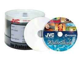 Microboards 16x Full Gloss Water Resistant White Inkjet Hub Printable DVD-R Media (300-pack), JDMR-WPPSB16WS, 12691347, DVD Media