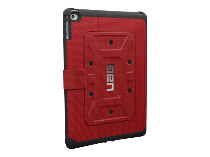 Urban Armor Folio Case for iPad Air 2, Red Black, UAGIPDAIR2REDVP