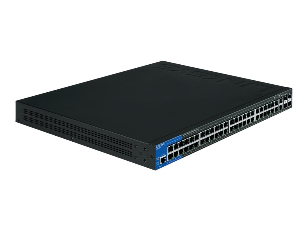 Linksys Linksys 52-Port Managed PoE+ Switch, LGS552P, 17550009, Network Switches