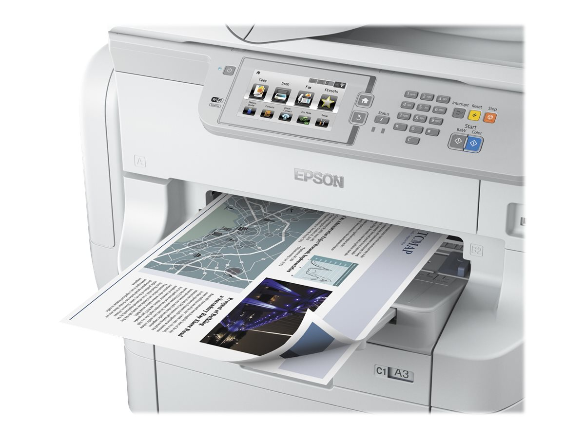 Epson WorkForce Pro WF-R8590 Network Multifunction Color Printer, C11CE25201