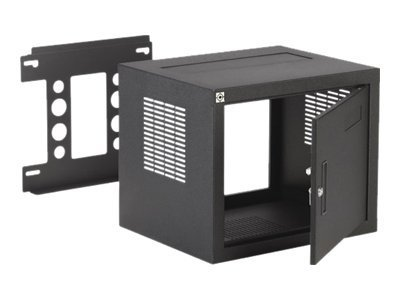 Chief Manufacturing W2 Wall Rack, 12U, 18 Deep, Includes locking solid steel door