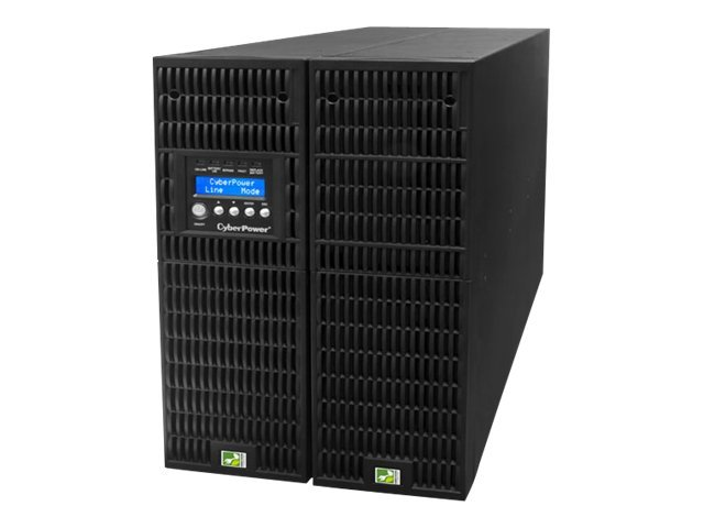 CyberPower Smart App Online 6000VA 5400W 6U Rack Tower UPS, LCD Control Panel, OL6000RT3U, 14249561, Battery Backup/UPS