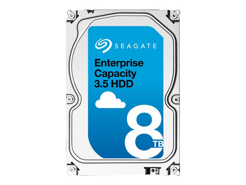 Open Box Seagate 8TB Enterprise Capacity SATA 6Gb s 512 Emulation 3.5 Internal Hard Drive