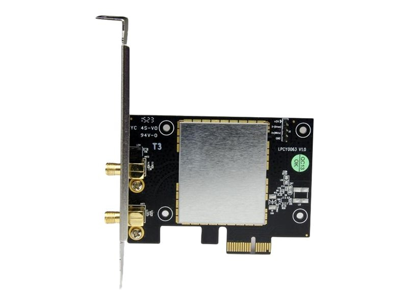StarTech.com AC600 802.11ac PCIe Wireless-AC Network Adapter, PEX433WAC11