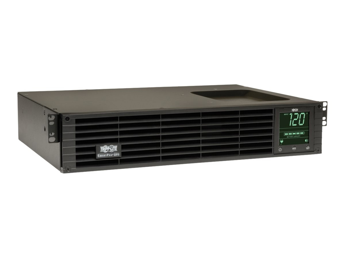Tripp Lite SmartPro 1000VA 800W Line-Interactive UPS 2U Rack Tower (6) Outlets, SMART1000RM2U, 4822618, Battery Backup/UPS