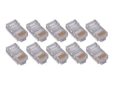 4Xem CAT5E Connector, 100-Pack, 4X100PKC5E