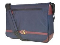 Mobile Edge DIG Laptop Messenger, Navy Burgundy, MP-DMB01, 8312615, Carrying Cases - Notebook