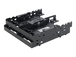 "Icy Dock FLEX-FIT Quattro MB344SP 4 x 2.5"" Hard Drive Solid State Drive Bracket for External 5.25"" Bay, MB344SP, 32333619, Drive Mounting Hardware"