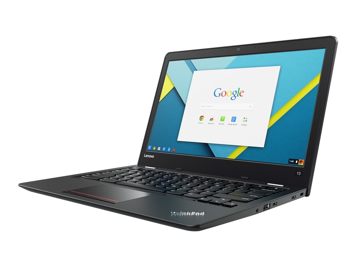 Lenovo TopSeller ThinkPad 13 Chromebook 1.6GHz Celeron 13.3in display, 20GL0006US