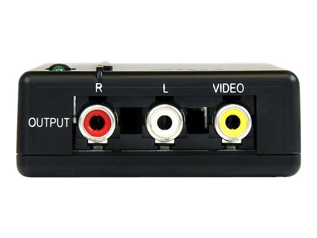 StarTech.com HDMI to Composite Video Converter with Audio, HD2VID