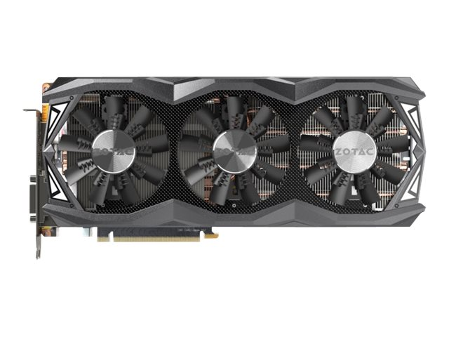Zotac GeForce GTX 980 Ti AMP Omega PCIe 3.0 Graphics Card, 6GB GDDR5, ZT-90504-10P, 26135173, Graphics/Video Accelerators
