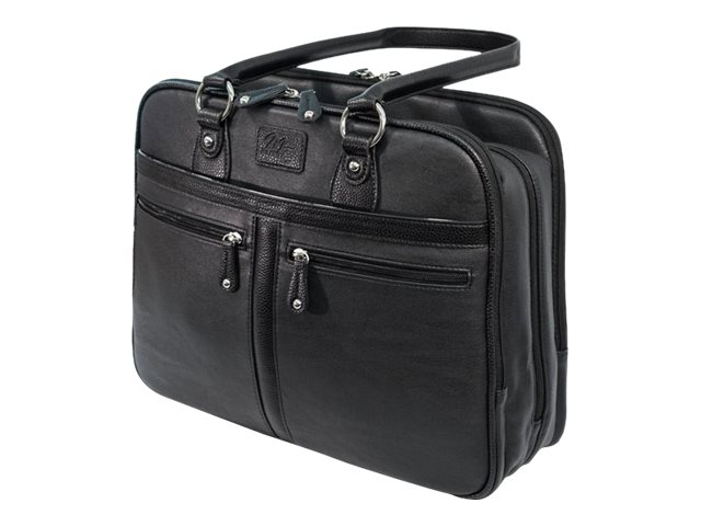 Mobile Edge Vegan Leather Verona Laptop Tote for 17, Black
