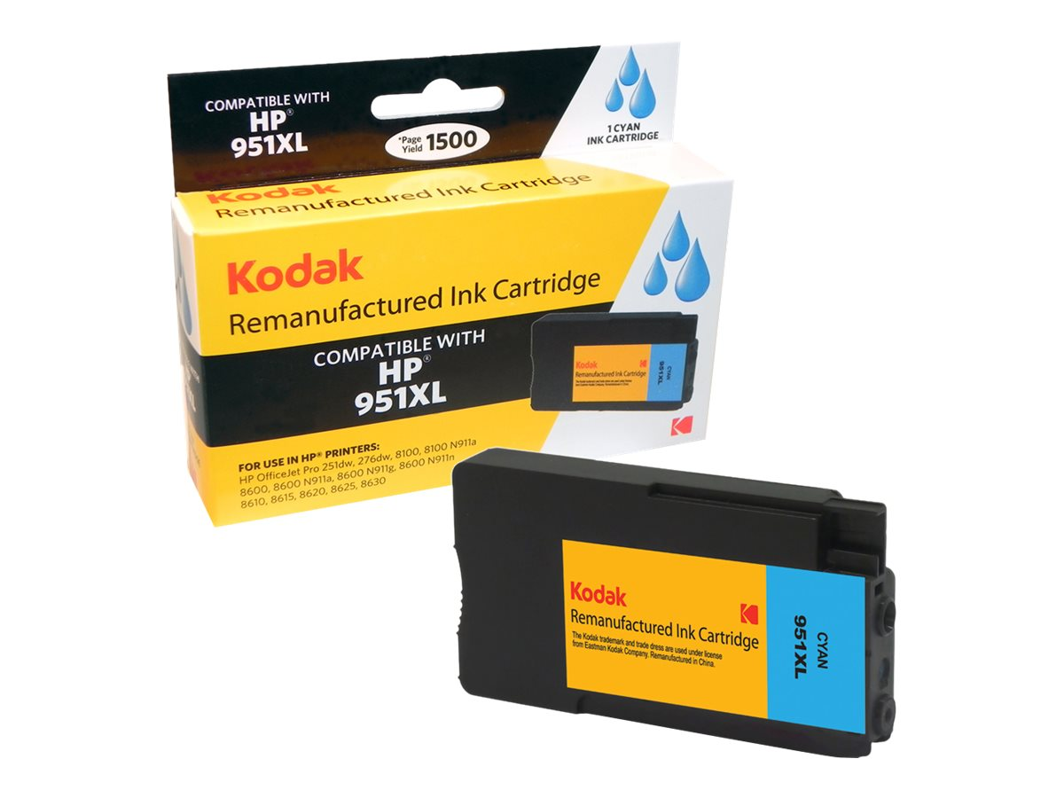 Kodak CN046AN Cyan Ink Cartridge for HP Officejet, CN046AN-KD