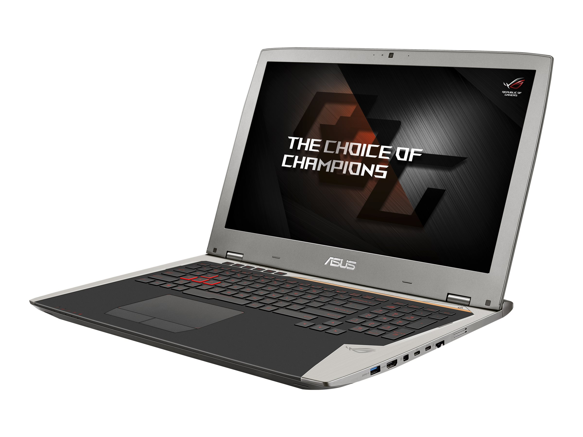Asus G701VO-CS74K Core i7-6820HK 64GB 512GB 17.3 W10