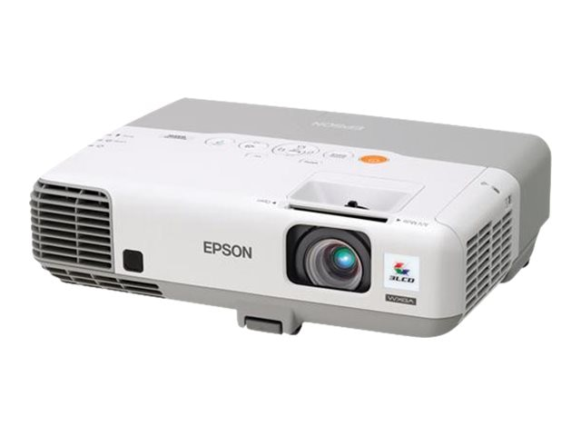 Epson Powerlite 935W WXGA LCD Projector, 3700 Lumens, White, V11H565020, 15307865, Projectors