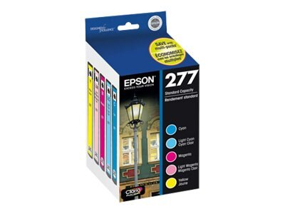 Epson Color 277 Ink Cartridges (Multi-pack), T277920