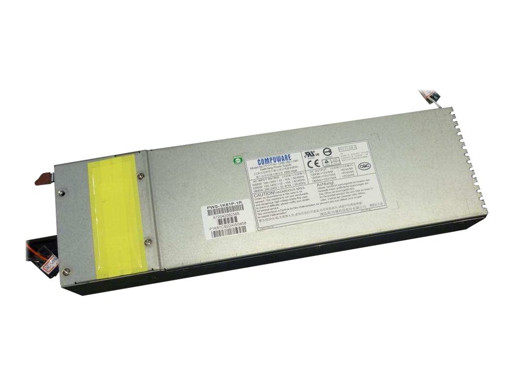 Supermicro Power Supply 1800W 80Plus Platinum, PWS-1K81P-1R
