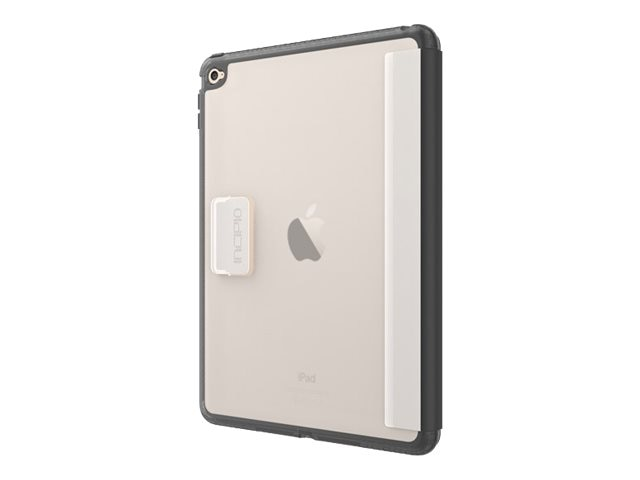 Incipio Octane Folio Co-Molded Impact Absorbing Folio for iPad Air 2, Frost Black