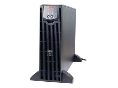 APC SmartUPS RT 6000VA 4200W XLT Online 208V UPS Tower (2) L6-20R (2) L6-30R Black, SURT6000XLT, 7035839, Battery Backup/UPS