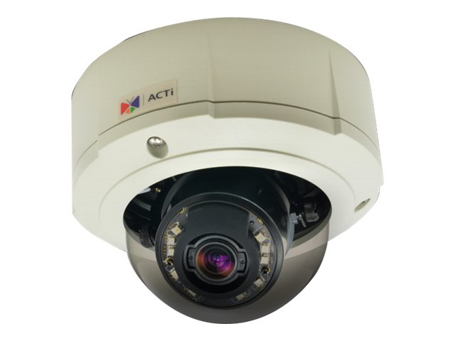 Acti B81 5MP Day Night Basic WDR Outdoor Zoom Dome Camera